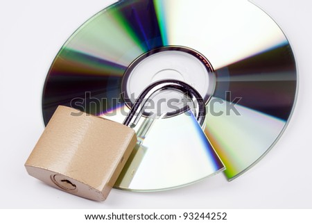 data security with cd and lock