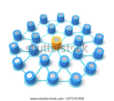 database network concept