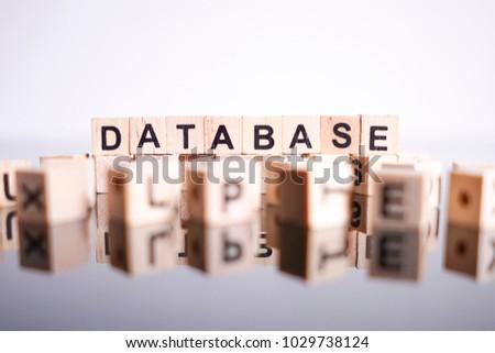 Database word cube on reflection