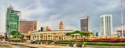Dataran Merdeka or Independence Square in Kuala Lumpur - Malaysia