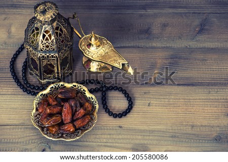 dates  arabian lantern and...