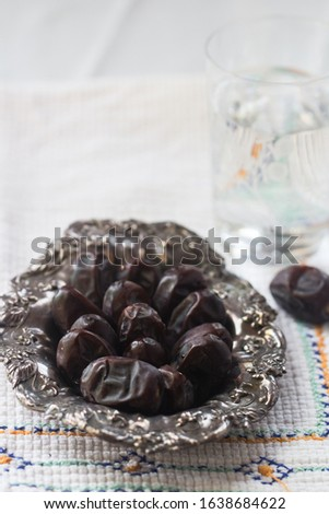 dates are nutritious, high in fiber and antioxidants which benefit to our health