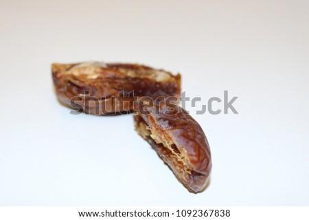 Dates fruit. Ripe dates. Dried dates. Palm dates. #1092367838
