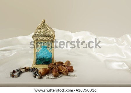 Dates With Lantern and rosary