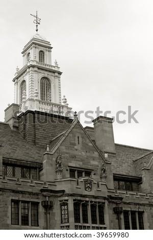 Davenport College of Yale university on York street