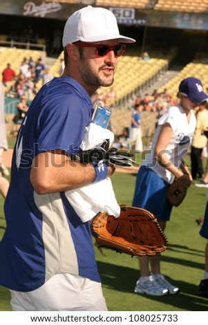 David Arquette  at The 50th Annual Hollywood Stars Game hosted by the Los Angeles Dodgers. Dodgers Stadium, Los Angeles, CA. 06-21-08
