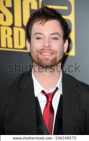 David Cook  at the 2008 American Musica Awards. Nokia Theatre, Los Angeles, CA. 11-23-08