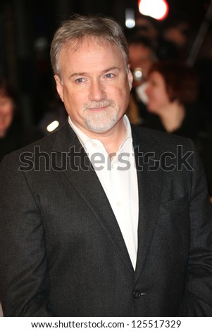 David Fincher at The House of Cards TV premiere held at Odeon, London, England. 17/01/2013 Picture by: Henry Harris - stock photo