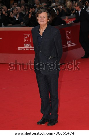 "David Hare attends the premiere of ""Page Eight"" during the 6th International Rome Film Festival. November 1, 2011, Rome, Italy Picture: Catchlight Media / Featureflash"