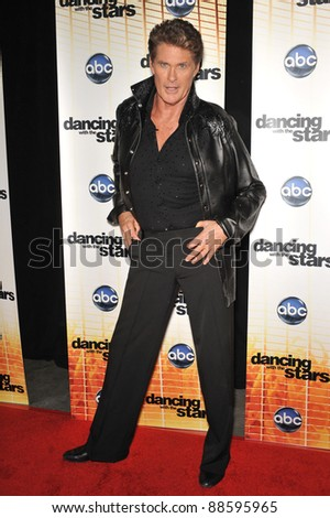 David Hasselhoff at the Season 11 premiere of ABC's Dancing With The Stars at CBS Television City, Los Angeles. September 20, 2010  Los Angeles, CA Picture: Paul Smith / Featureflash