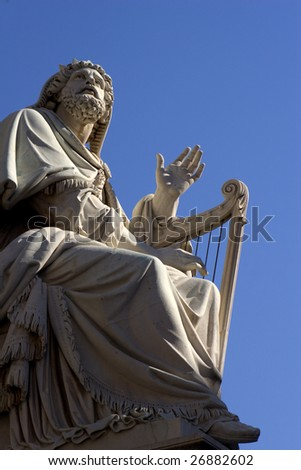 David - king of Israel - statue in Rome #26882602