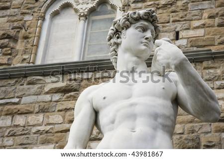 David  Michelangelo - close up