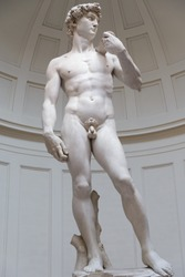 David's Statue by  Miguel Angel,Florence, Italy
