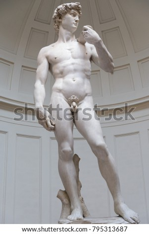 david's statue by  miguel angel ...