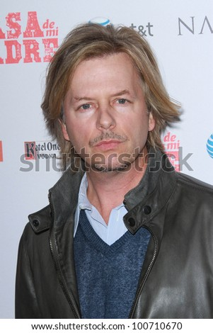 "David Spade at the ""Casa De Mi Padre"" Los Angeles Premiere, Chinese Theater, Hollywood, CA 03-14-12"