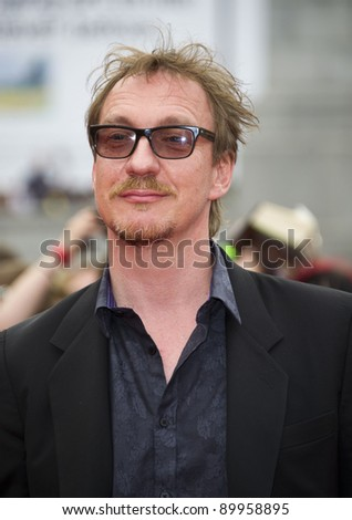 David Thewlis arriving for the World Premiere of 'Harry Potter & the Deathly Hallows pt2', Trafalgar Square, London. 07/07/2011  Picture by: James McCauley / Featureflash