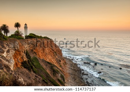 Dawn at Point Vicente, Palos Verdes, Los Angeles