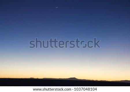 Dawn in Bolivian  Salt Flats (Salar de Uyuni) - Bolivian Highlands (Altiplano Boliviano) #1037048104
