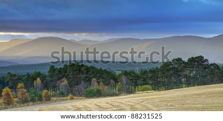 Dawn in the Mountains (Scottish Cairngorms)