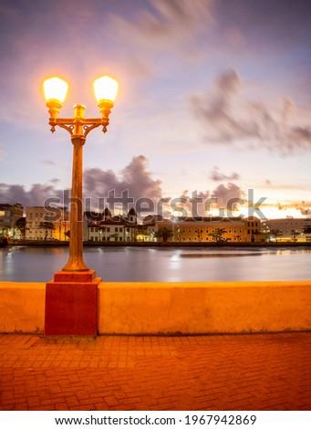 Dawn of Recife - Recife - Pernambuco - Brazil Foto stock ©