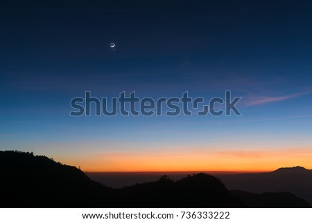 Dawn sky background #736333222