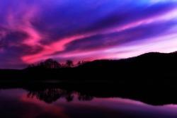 Dawn, Stonewall Jackson Lake, Stonewall Resort, Near Roanoke, West Virginia, uSA