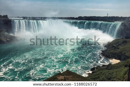 Day at Niagara Falls, Ontario, Canada #1188026572
