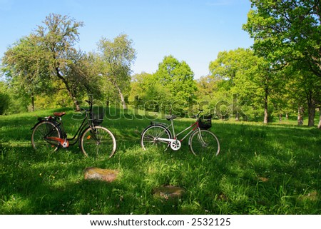 Day trip on bicycle in the nature. - Shutterstock ID 2532125