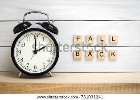daylight saving time   fall...