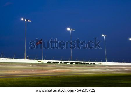 DAYTONA BEACH, FL - JUL 3:  The Nationwide teams take to the track for the running of the Subway Jalapeno 250 at the Daytona International Speedway in Daytona Beach, FL on Jul 3, 2009.