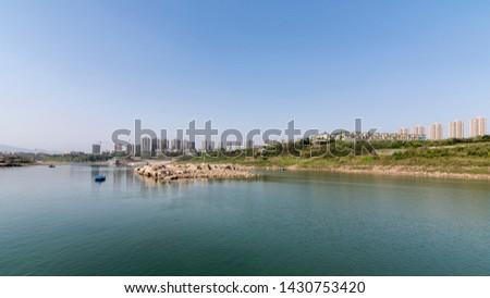 Dazhulin District Yubei District along the Yangtze River in Chongqing main urban area