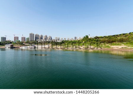 Dazhulin District Yubei District along the Yangtze River in Chongqing main urban area