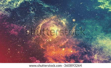 De-focused abstract texture of universe for graphic design #360893264