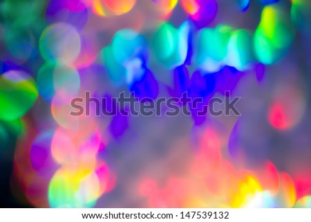 De-focused light  - stock photo