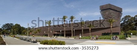 De Young Building panorama