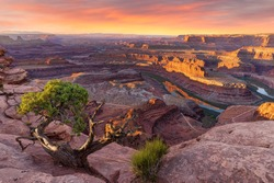 Dead Horse Point State Park Utah - Amazing View - Sunrise