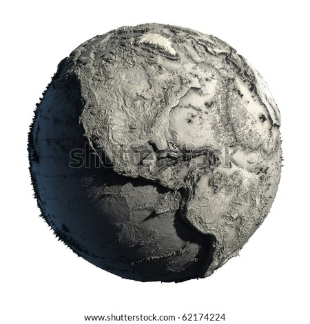 Earth without Water Map http://www.shutterstock.com/pic-62174224/stock-photo-dead-planet-earth-without-water-the-global-ecological-catastrophe-a-fantastic-assumption-of-the.html
