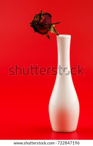 Free Photos Single Red Rose In A Heart Shaped Vase Avopix