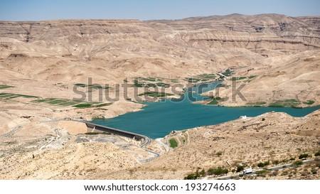 Dead Sea (Aerial view), Jordan