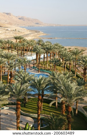 Dead Sea hotel resort