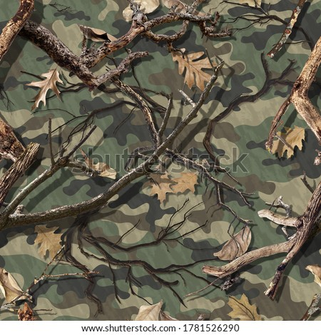 Photo of  DEADWOOD CLASSIC FALL CAMO SEAMLESS