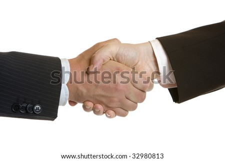 Deal Done and finished with handshake