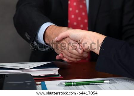 Deal. Handshake