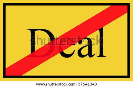 Deal - signpost