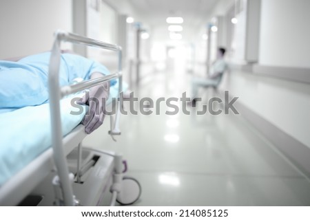 Death and waiting in the hospital corridor