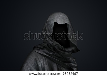 Death in the hood concept - stock photo