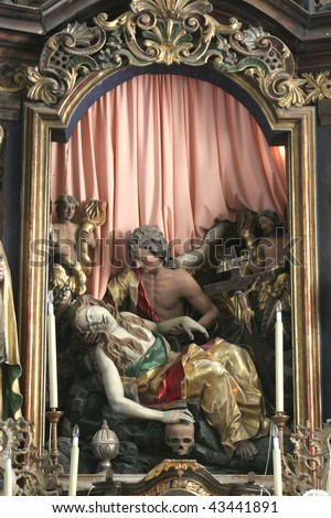 Death of Saint Mary Magdalene