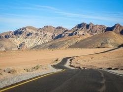 Death Valley Highway Artist Pallete