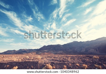 Death valley National Park, California #1040348962
