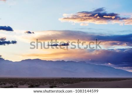 Death valley National Park, California #1083144599